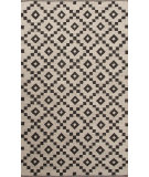 RugStudio presents Jaipur Rugs Scandinavia Nordic Croix Scn03 Antique White & Deep Charcoal Flat-Woven Area Rug