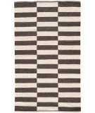 RugStudio presents Jaipur Rugs Scandinavia Nordic Demi Scn05 Antique White & Deep Charcoal Flat-Woven Area Rug