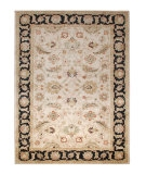 RugStudio presents Jaipur Rugs Mythos Selene MY02 Beige/Ebony Hand-Tufted, Better Quality Area Rug