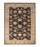 RugStudio presents Jaipur Rugs Mythos Selene MY03 Ebony/Sand Hand-Tufted, Better Quality Area Rug