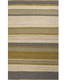 RugStudio presents Jaipur Rugs Shores Somerset Shs01 Citron Flat-Woven Area Rug