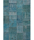 RugStudio presents Rugstudio Sample Sale 109957R Turquoise Hand-Knotted, Good Quality Area Rug
