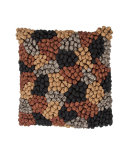 RugStudio presents Jaipur Rugs Houston Bobbles So03 Chocolate