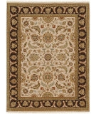 RugStudio presents Jaipur Rugs Atlantis Sonoma AL09 Dark Ivory/Tobacco Hand-Knotted, Good Quality Area Rug