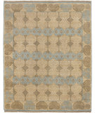 RugStudio presents Jaipur Rugs Vestiges Desire VT03 Cloud White Hand-Knotted, Good Quality Area Rug