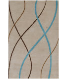 RugStudio presents Jaipur Rugs Traverse Stockholm Tv05 Antique White Hand-Tufted, Good Quality Area Rug