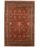 RugStudio presents Jaipur Rugs Uptown Raymond Sutton Ut07 Brick Red Hand-Knotted, Good Quality Area Rug