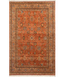 RugStudio presents Rugstudio Sample Sale 63799R Red Orange Hand-Knotted, Good Quality Area Rug