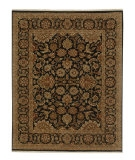 RugStudio presents Jaipur Rugs Atlantis Taj AL11 Ebony Hand-Knotted, Good Quality Area Rug