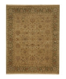RugStudio presents Rugstudio Sample Sale 53306R Tan/Walnut Hand-Knotted, Good Quality Area Rug