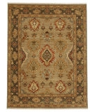 RugStudio presents Jaipur Rugs Lassen Park Trident LS04 Lead Gray/Mushroom Hand-Knotted, Better Quality Area Rug