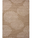 RugStudio presents Jaipur Rugs Traverse Kyoto Tv11 Medium Brown Hand-Tufted, Good Quality Area Rug