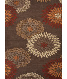 RugStudio presents Rugstudio Sample Sale 75037R Dark Brown Hand-Tufted, Good Quality Area Rug