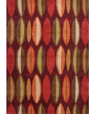 RugStudio presents Jaipur Rugs Traverse Nairobi Tv18 Deep Ruby Hand-Tufted, Good Quality Area Rug