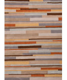 RugStudio presents Jaipur Rugs Traverse Mombasa Tv22 Beige / Pumpkin Hand-Tufted, Good Quality Area Rug