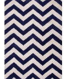 RugStudio presents Jaipur Rugs Traverse Paris Tv23 Deep Navy Hand-Tufted, Good Quality Area Rug