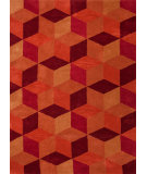 RugStudio presents Jaipur Rugs Traverse Malmo Tv28 Pumpkin Hand-Tufted, Good Quality Area Rug