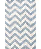 RugStudio presents Jaipur Rugs Traverse Paris Tv31 Milky Blue Hand-Tufted, Good Quality Area Rug
