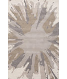 RugStudio presents Jaipur Rugs Traverse Inked Tv37 White Hand-Tufted, Good Quality Area Rug