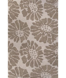 RugStudio presents Jaipur Rugs Traverse Flora Tv39 Classic Gray Hand-Tufted, Good Quality Area Rug