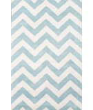 RugStudio presents Jaipur Rugs Traverse Paris Tv46 Light Turquoise Hand-Tufted, Good Quality Area Rug