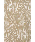 RugStudio presents Jaipur Rugs Traverse Wood Grain Tv48 Dark Sand Hand-Tufted, Good Quality Area Rug