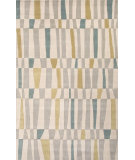 RugStudio presents Jaipur Rugs Traverse Offset Tv51 Beige/Gold Hand-Tufted, Good Quality Area Rug