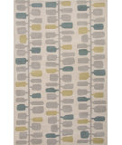 RugStudio presents Jaipur Rugs Traverse Leaves Tv52 Beige/Gold Hand-Tufted, Good Quality Area Rug