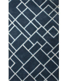 RugStudio presents Jaipur Rugs Traverse Ghent Tv55 Dark Blue/Beige Hand-Tufted, Good Quality Area Rug