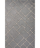 RugStudio presents Jaipur Rugs Traverse Ghent Tv56 Gray/Beige Hand-Tufted, Good Quality Area Rug
