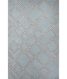 RugStudio presents Jaipur Rugs Traverse Ghent Tv57 Sky Blue/Beige Hand-Tufted, Good Quality Area Rug