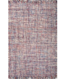 RugStudio presents Jaipur Rugs Tweedy Tweedy Twd03 Denim Blue/Brick Red Flat-Woven Area Rug