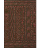 RugStudio presents Jaipur Rugs Urban Bungalow Doha Ub21 Dark Chocolate & Merlot Red Flat-Woven Area Rug