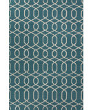 RugStudio presents Jaipur Rugs Urban Bungalow Sabrine Ub22 Deep Lake Flat-Woven Area Rug