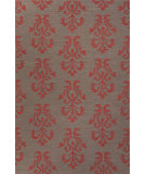RugStudio presents Jaipur Rugs Urban Bungalow Khalid Ub23 Dark Gray Flat-Woven Area Rug