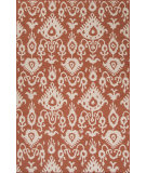 RugStudio presents Jaipur Rugs Urban Bungalow Samir Ub25 Orange Rust Flat-Woven Area Rug