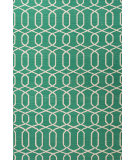 RugStudio presents Jaipur Rugs Urban Bungalow Sabrine Ub29 Emerald Green Flat-Woven Area Rug