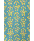 RugStudio presents Jaipur Rugs Urban Bungalow Khalid Ub35 Deep Lake/Ecru Olive Woven Area Rug