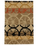RugStudio presents Jaipur Rugs Namaste Velo NM04 Gray Brown/Gray Brown Hand-Knotted, Better Quality Area Rug