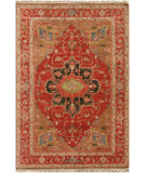 RugStudio presents Jaipur Rugs Uptown Raymond York Ut02 Cayenne Hand-Knotted, Good Quality Area Rug