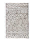 RugStudio presents Rugstudio Sample Sale 103203R Natural White Hand-Knotted, Good Quality Area Rug