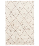 RugStudio presents Jaipur Rugs Zuri Zena Zui03 Natural White Hand-Knotted, Good Quality Area Rug