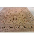 RugStudio presents J. Aziz Antiqued Jaipur Sm-140 Beige- 86860 Hand-Knotted, Good Quality Area Rug
