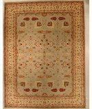 RugStudio presents J. Aziz 8-8 Shah Abbas Geo Lgr- 86841 Hand-Knotted, Good Quality Area Rug
