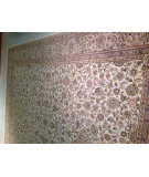 RugStudio presents J. Aziz Antiqued Jaipur 1363 Whi- 86844 Hand-Knotted, Good Quality Area Rug