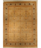 RugStudio presents J. Aziz Shah Abbas Antiqued V-1602 Iv-Gra 86704 Hand-Knotted, Good Quality Area Rug