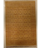 RugStudio presents J. Aziz Shah Abbas Antiqued V-1674 Gol 86750 Hand-Knotted, Good Quality Area Rug