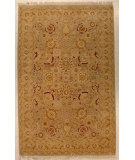 RugStudio presents J. Aziz Shah Abbas Antiqued V-1609 Snd-Bge 86719 Hand-Knotted, Good Quality Area Rug