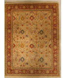 RugStudio presents J. Aziz Shah Abbas Antiqued V-1647 Iv-Red 86732 Hand-Knotted, Good Quality Area Rug