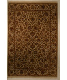 RugStudio presents J. Aziz Antiqued Jaipur Mk-27 Ivory-Iv 86854 Hand-Knotted, Good Quality